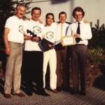 Les signataires à MALMSHEIM en 1985