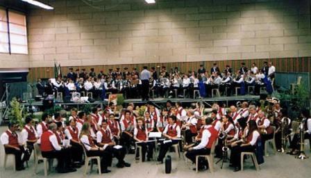 Lors de notre centenaire en 2004 au Stade des Verchères